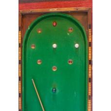 Victoriaanse Bagatelle billiard tafel