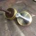 TE KOOP: metalen tol (reproductie)